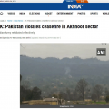 印度国防部称印巴4日凌晨再次交火 巴基斯坦尚未回应