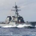 美海军时隔1个月再次派舰穿越台湾海峡 美海岸警卫队也来凑热闹
