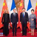 习近平会见法国总统马克龙