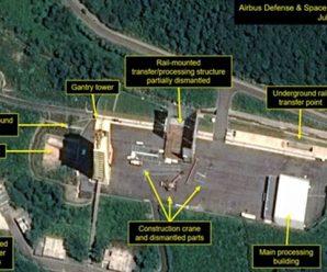 韩媒:朝鲜东仓里导弹发射架异常动向有可能是主动炸毁的前兆