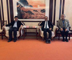 泰国统促会访问团拜访中国致公党山东委员会