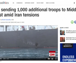 同伊朗关系紧张,美国五角大楼批准向中东增派1000名士兵