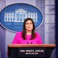 美国白宫新闻秘书桑德斯将离职 特朗普:希望她竞选州长