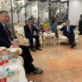 """黑龙江省委常委杜和平接见出席""""相聚龙江·共谋发展""""的各国侨领"""
