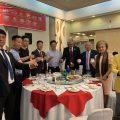 菲律宾江苏商会举行宴会欢迎出席成立仪式的各国侨领