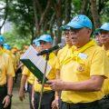 泰国总理巴育带领政府成员及社会团体于植树庆祝崇圣泰王十世王生辰