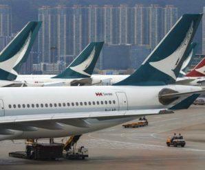 """国泰航空再曝丑闻,2架客机氧气瓶被排气:疑""""内鬼""""所为"""