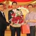 中国银行(泰国)分行行长王宏伟拜会泰国统促会王志民会长