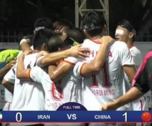 致敬!中国盲人足球队1-0胜伊朗夺冠 第6次称霸亚洲