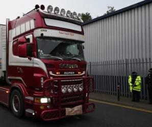 英警方尚无法确定货车39名遇难者为中国籍 验尸工作即将开始