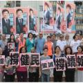 拒向黑暴低头!香港市民高唱《勇敢的中国人》力挺建制派
