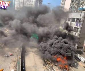 """香港中联办:香港暴力破坏活动正滑向""""恐怖主义""""深渊"""