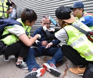 日本游客香港街头遭袭 日网友炸了:这不是暴行是什么!