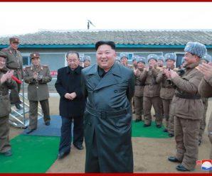 金正恩观摩超大型火箭炮试射 对试射结果表示极大满意