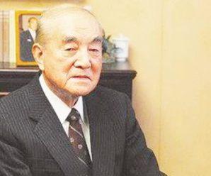 日本前首相中曾根康弘去世,享年101岁