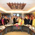 福建省海外联谊会代表团访问泰国统促会