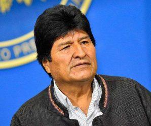 玻利维亚前总统莫拉莱斯抵达墨西哥接受政治庇护