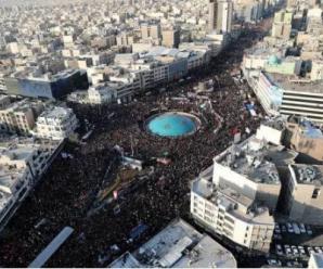 伊朗外长问特朗普:这辈子见过这样的人山人海吗?