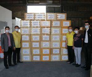 众志成城战疫情——泰国统促会向中国捐赠第二批口罩物资