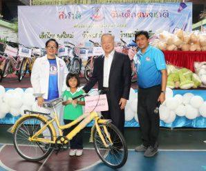泰国统促会王志民会长参加Lumpini小学儿童节庆祝活动