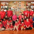 泰国统促会王志民会长与家人共度新春佳节