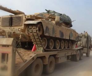 土耳其军队在叙利亚伊德利卜发动军事攻势 俄军参战