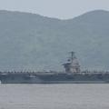 美国罗斯福号航母3名水兵确诊感染新冠病毒 此前曾在南海进行军事训练