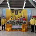 泰国统促会向彭改社区捐赠大米及洗手液