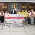 泰国统促会联合多机构向曼谷市政府捐赠大米及防护服