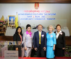 泰国社会福利总会举行2020年度常务理事大会