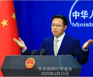印媒报道中方至少40名官兵冲突中死亡 赵立坚驳斥