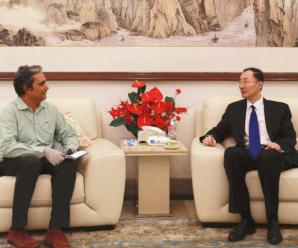 中国驻印大使谈中印加勒万河谷事件:印方越线挑衅打人在先