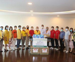 泰国统促会向泰国警察医院捐赠医疗抗疫物资