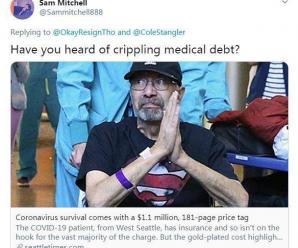 病在美国:从新冠肺炎患者181页天价账单说起