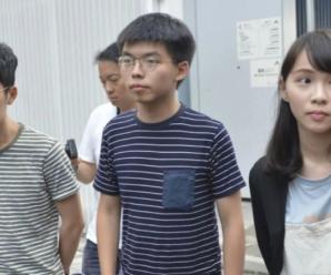 """黄之锋卷款走人!""""香港众志""""解散真相曝光"""
