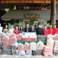 亚洲和平发展青年商会向Suan Kaew慈善会捐赠物资