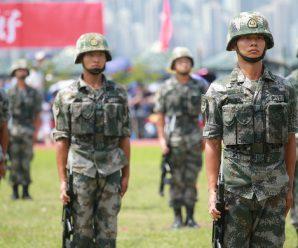 解放军驻港部队:坚决拥护香港国安法颁布实施