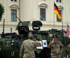 德媒:美国将从德国4个基地撤离1.2万美军,半数直接回国