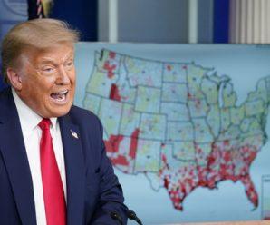 英媒:新冠疫情撕裂美国社会
