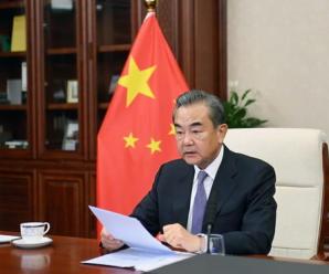 王毅出席二十国集团外长视频会议