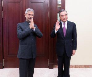 王毅会见印度外长苏杰生