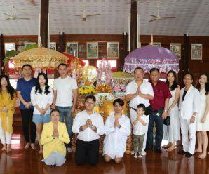 嘉乐斯集团于坤刚寺举办常年捐僧衣节仪式