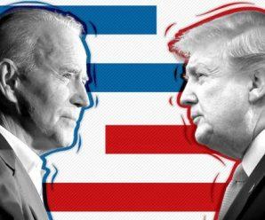 多项民调显示拜登两位数领先特朗普 靠谱吗?