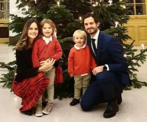 瑞典王子王妃双双染疫 被迫与俩儿隔离