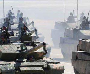 国防部:解放军已经基本实现机械化