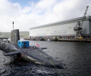 英国战略核潜艇执行绝密任务前暴发疫情 近170名艇员被全部撤换
