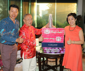 泰国统促会顾问史大佗 马特娜夫妇拜会王志民会长
