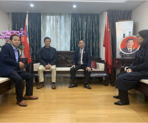广东统促会李六元秘书长到访泰国统促会广东联络处