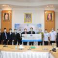亚洲和平发展青年商会向阿努廷副总理捐赠抗疫物资