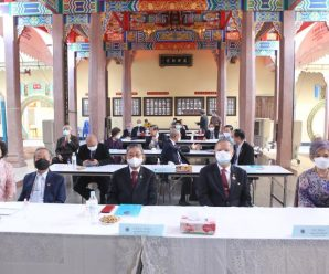 泰国林氏宗亲总会举行第22届会长会交卸就职典礼